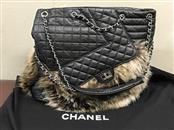 CHANEL Handbag LAMB SKIN RUNWAY CHAIN SHOULDER BAG